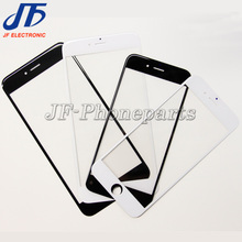 10pcs/lot Outer Glass For iphone 6s 6 S plus 5.5 inch LCD Touch Screen Lens Front Glass Replacement