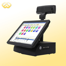 POS1503 15 Inch Touch Sreen POS Machine High Quality With LED Customer Display Compatible with Windows