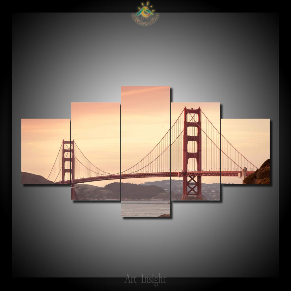 Magnificent Golden Gate Bridge Wall Art Photo - Wall Art Collections ...