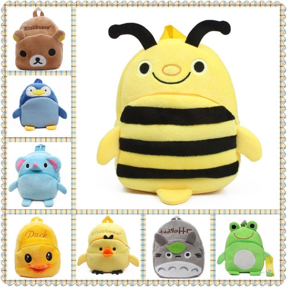 Bee Cartoon Backpack Toddler Mini Kindergarten School Bag for 1-3 Years Old New