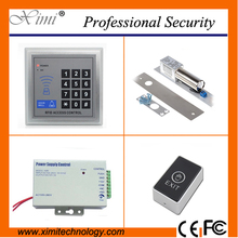 F004 card access controller with exit button power supply and electric lock door lock without software single door lock