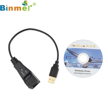 Binmer Mecall New Plugable to 10/100 Mbps Gigabit Ethernet LAN USB 2.0 Adapter Black