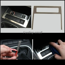 USB AUX decorative Stainless steel car stickers special cover car styling for Volkswagen jetta mk6 2012 2013 2014