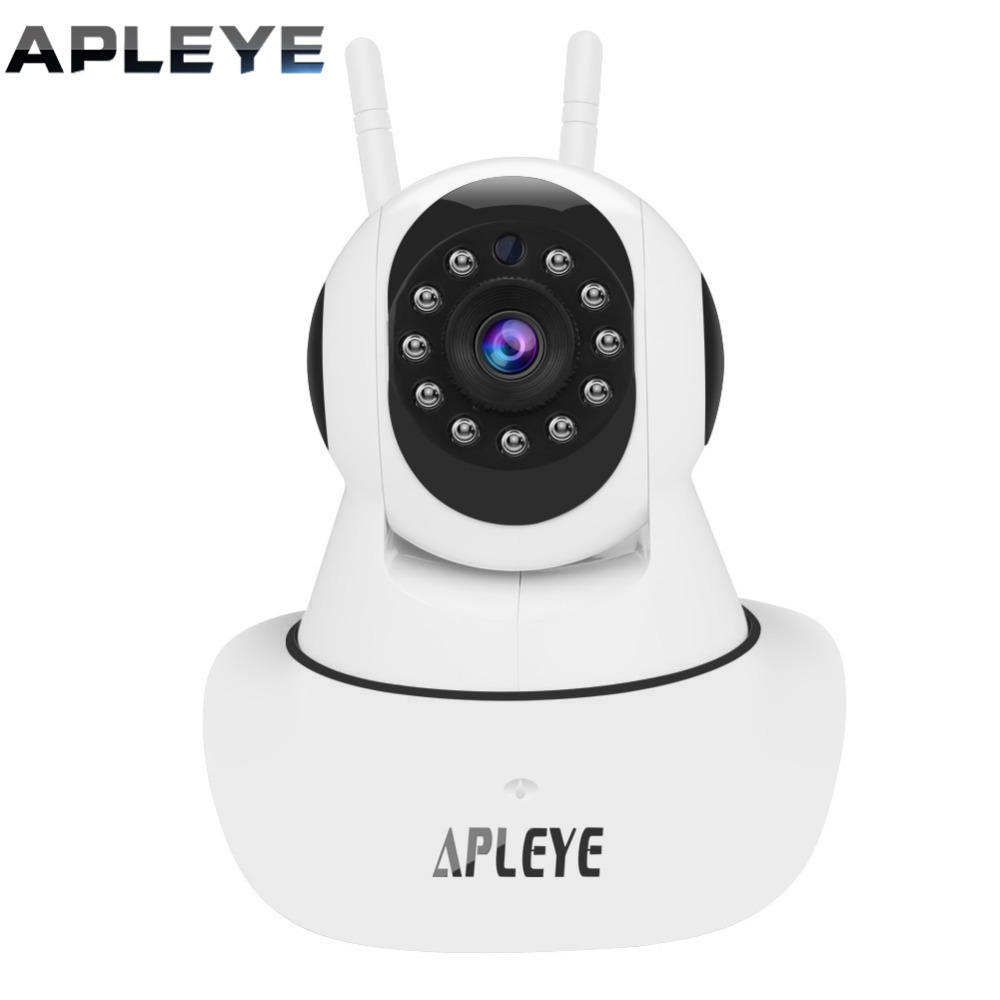 APLEYE P2P WIFI IP Camera 2.0MP 1080P HD Pan/Tilt Wireless Security CCTV Camera Mini Baby Monitor Surveillance Camera SHOWMO APP<br>