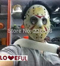New Black Smoke Eye Cosplay Delicated Jason Voorhees Freddy Hockey Festival Party Halloween Masquerade Mask --- Loveful