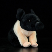 Cute The Little Pig Plush Toys Simulation Black/Pink Pig Stuffed Stuffed Animals Dolls Kids Toys Christmas Gifts(China)