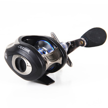 LMA 200R   10+1 ball bearings left/right hand Gear ratio6.3:1 baitcasting reel  high speed fishing reel five colors for choice