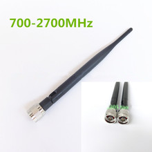 Multi-Band Antenna for 700/800/900/1800/1900/2100/2600/2700 MHz LTE GSM DCS 3G 4G LTE,700-2700MHz Full Frequency Rubber Antenna