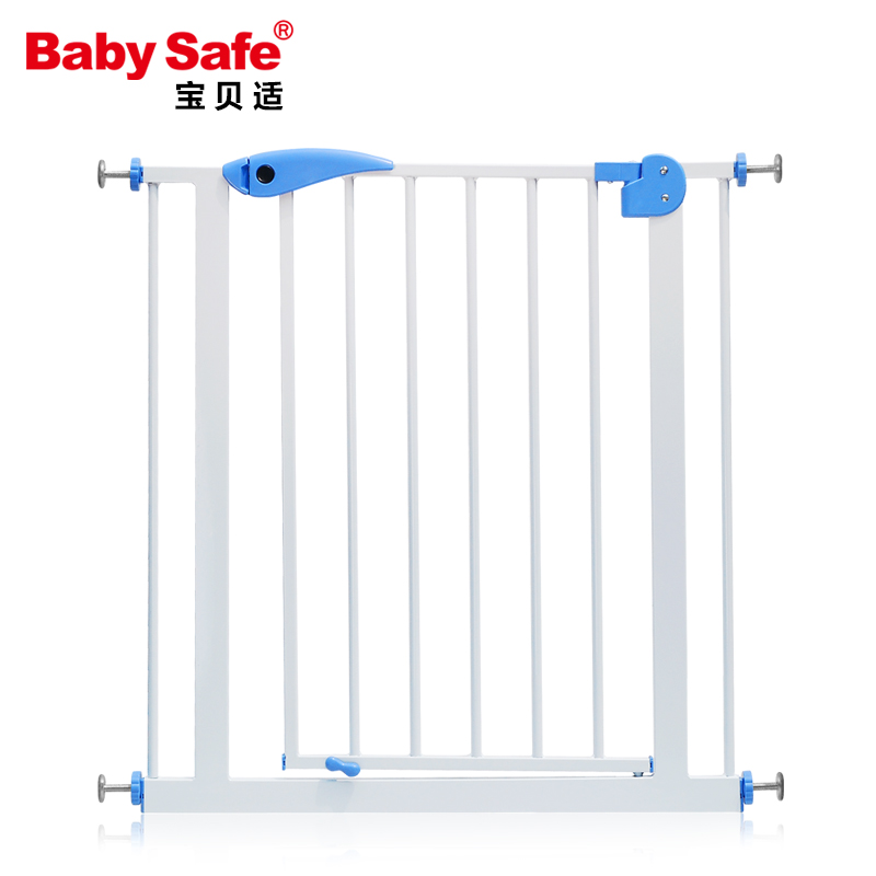75-85cm Baby safe  stair safey gate Child gate baby guardrail pet dog grid railing fence isolating valve <br>