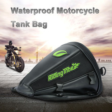 Fashion Leather saddle bags motorcycle bag leg waterproof moto tank bag mochila moto pierna bolsa motocicleta racing oil tank(China)