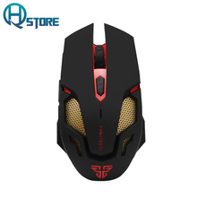 FANTECH V2 Wired USB 2.0 Optical Gaming Mouse With 7 Color Breathing Light 2400 DPI for PC Laptop Mouse Gamer