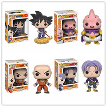 Dragon Ball Z Funko POP Super Saiyan Son goku Vegeta Cell Piccolo Frieza PVC Action Figure Model DragonBall Toy Gift dbz