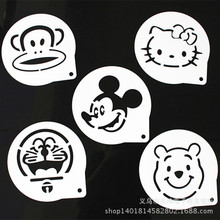 Screen Printing Stencil Printing Die Cake Sugar Cake 6 Inch 8 Inch Hello Kitty Jingle Cats Cartoon Mold