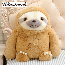 Simulation Sloth Baby Doll Lifelike Sloth Plush Toys Stuffed Dolls Kids Toys Lovely Doll Girlfriend Best Gifts Brinquedos WW36(China)