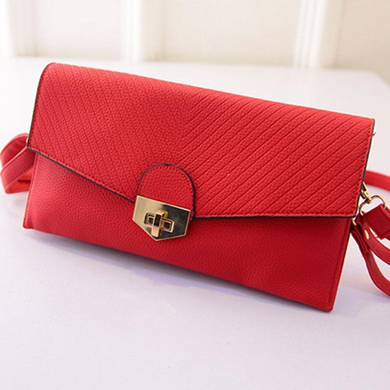 2015 spring new Korean female envelope handbags shoulder bag diagonal bag ladies party clutch women Messenger bags<br>