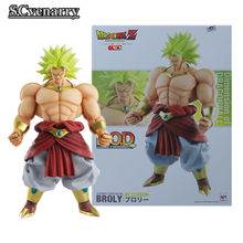 Anime MegaHouse Dimension of Dragon Ball Broli Dragon Ball Z PVC Action Figure DOD Figuarts Collectible Model Toy DBZ Figuras
