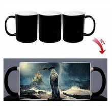 Magic Mug Game Of Thrones Custom Photo Heat Color Changing Morph Mug 300ML Coffee Cup Beer Milk Mug With Cookie Wholesale xicara