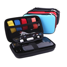 Multi Use Storage Box Digital Gadget Devices Usb Cable Data Line Travel Jewelry Plastic Box Organizer Case(China)