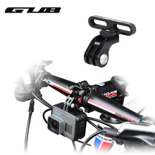 GUB 609 Aluminum Bicycle Holder Adapter For GoPro Camera Light Lamp Rack Accessory Digital Cameras Bike Stem Mount Holder(China)