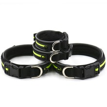 Design Outdoor Light Reflective Puppy Nylon Pet Cat Dog Collar Adjust Reflecting Collar Hot Selling