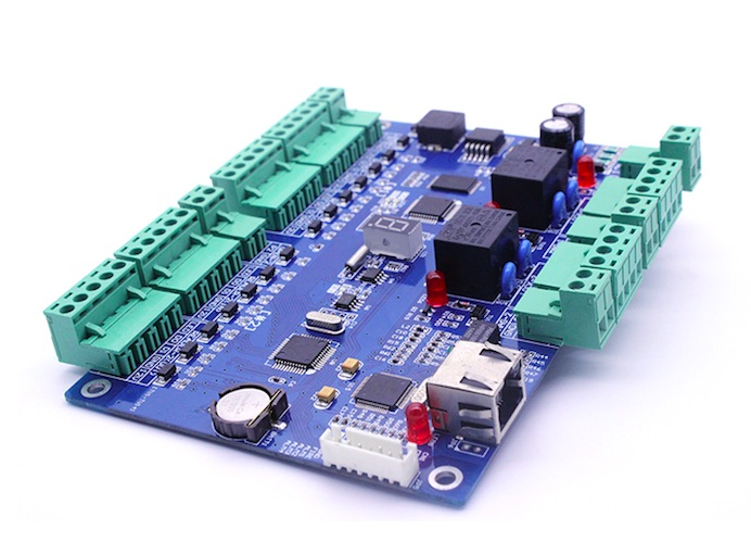 two door access control board board for TCP/IP door access control system<br>