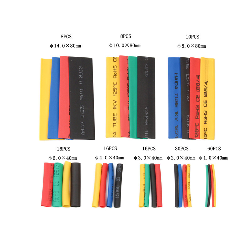 HEAT SHRINK tubing 2:1 rapporto NERO 12,7 mm 10m 10 METRI