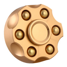 New Six Bead Revolver Edition Metal Spinner Fidget Toy Anti Stress Rotary EDC Toys For Childen With Autism Quality Control
