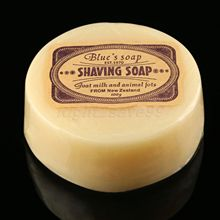 Men's Goat Milk Shaving Soap Facial Male Shaving Cream Soap Barber Salon Tools Gift for Men(China)