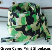 500pair/lot~Camo Print Laces~Camo Print Sneaker Shoelaces~Green Camo Print Shoelaces~Camo Sneaker Lace~Camouflage Pattern Lace