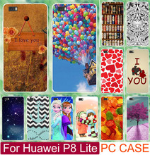 (Not For P8) Print Love You Beer Moon Cute Littel Girl PC Cases For Huawei Ascend P8 Lite 5 inch Mobile Phone Case Cover Shell