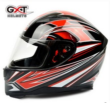 men Motorcycle helmet GXT 398 black red with warm neckerchief,women Motorbike Full face helmet,electric bicycle helmets