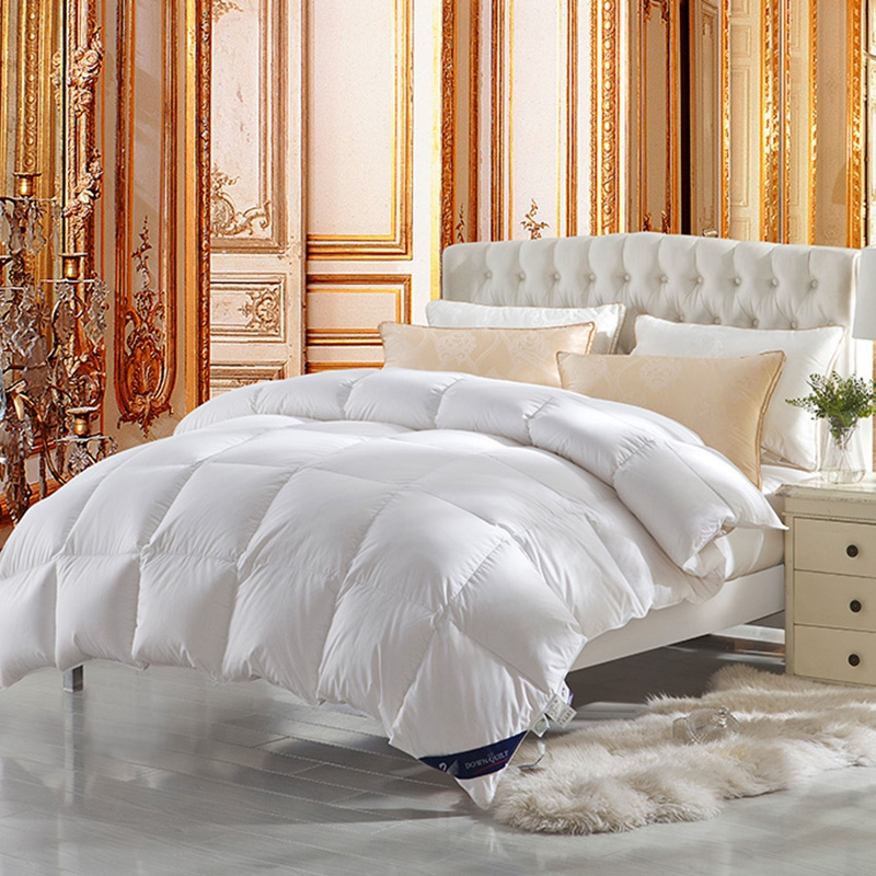 100 duck down for king queen full - Down Comforter Queen