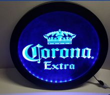 b42 Corona Extra RGB led Multi Color the wireless control beer bar pub club neon light sign Special gift(China)