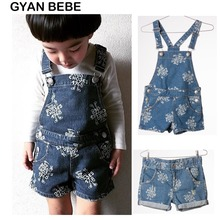 2017 Kids Bobo Choses Denim Overalls For Girls Boys Children Jeans With Suspenders Jeans Salopette Of Baby Girl Jumpsuit shorts