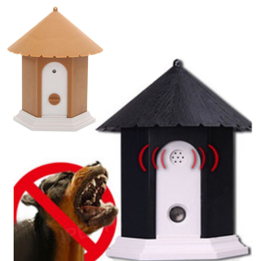 Outdoor Indoor Ultrasonic Dog Bark Control Anti Barking Device Silencer Stopper<br><br>Aliexpress