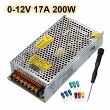 New AC110/220V To DC0-5V/0-12V Adjustable Dimmable Switch Power Supply Lighting Transformer LED Driver For LED Strip Light(China)