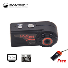 QQ6 Mini Camera Full HD 1080P Wide Angle Micro Camera IR Night Vision Motion Detection Sensor DV DVR Camera Small Web Camera(China)