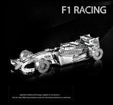 Formula car f101 1:50 3D puzzles nano metal model Wholesale price Stainless steel DIY Creative gifts Chinese New styles(China)