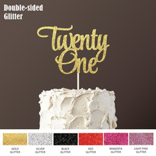 Double Sided Gold Glitter Paper