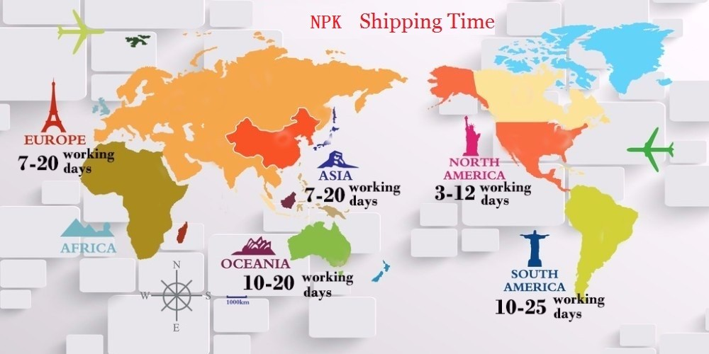 NPK Shipping Time