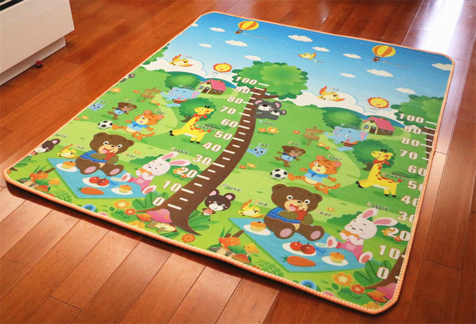10 mm Thick Double Sides Children Play Mat Waterproof Kids Beach Picnic Mat Soft Eva Foam Carpet Rug Baby Crawling Mat Baby Toy 41