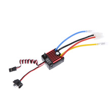 Hobbywing QUICRUN Series 1060 Waterproof Brushed ESC 60A with 5V/2A Linear Mode BEC for 1/10 RC Car