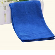 2 pcs Microfiber Car Cleaning Cloth 30cm*70cm Vehicle Washing Cloth Blue Color House Cleaning Water Absorption Scouring Pad