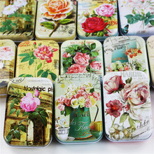 Benefits!! Chinese Flower Series Tin Box Mac Cosmetic Lipstick Organizer Craft Cajas Plastico Tea Box Candy Case Jewelry Coffee