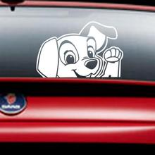 Hot Selling Cute Dog Waterproof Car Sticker Super Cool Car styling Decal Wholesale Price Apr25(China)