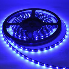 5M 3528SMD 120Leds/Meter IP65 Waterproof Flexible 600 LED Strip Lights black PCB Boat Car Home decor-RED/BLUE/WHITE/WARM WHITE