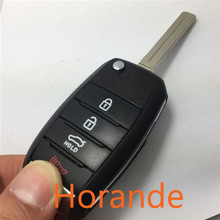 Folding Control Key Blank Shell Cover for Kia Optima  Soul Flip Key Keyless Entry Remote Fob