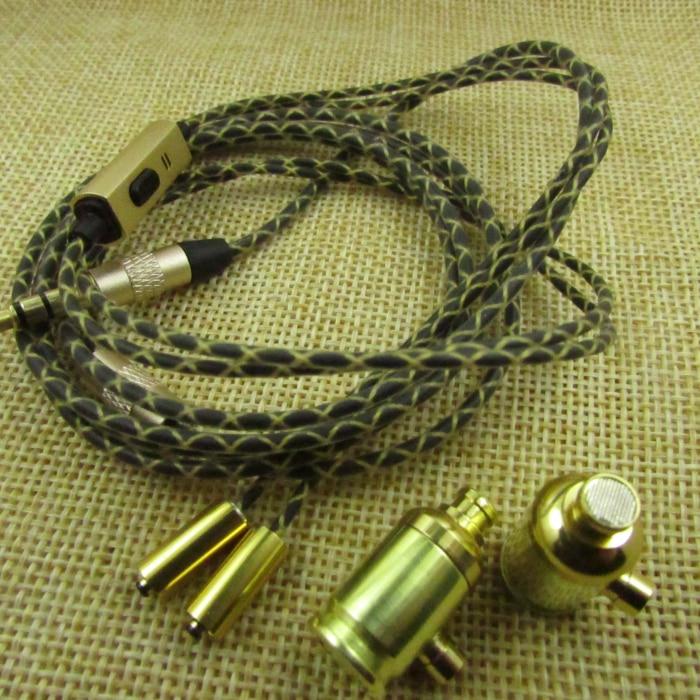 diy earphon Separable earphone with mic<br>