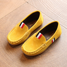 Toddler Children's Casual Flat Shoes 2017 Fashion New Girls Moccasins Kids Boy Non-slip Loafers PU Leather Doug Shoes(China)