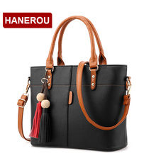 Women Leather Handbags Shoulder Bag Women's Casual Tote Female Designer Messenger - BaiLiLaoRen Store store